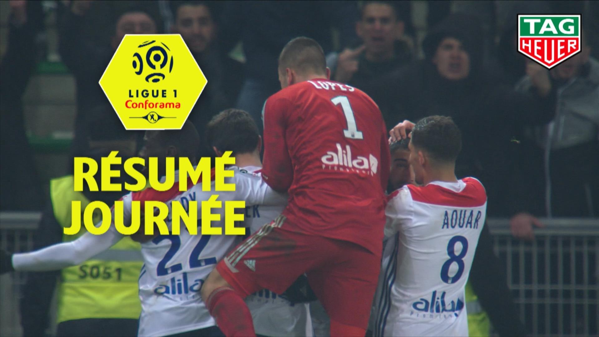 Résumé de la 21ème journée - Ligue 1 Conforama / 2018-19