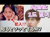 【Apink  1도 없어】MVでは消されたシーンがゾッとする【MV解説】