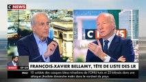 Echange tendu entre Brice Hortefeux et Jean-Pierre Elkabbach au sujet de François-Xavier Bellamy - Regardez