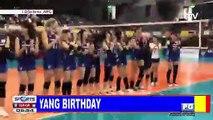 Jaja, MVP sa kaniyang birthday