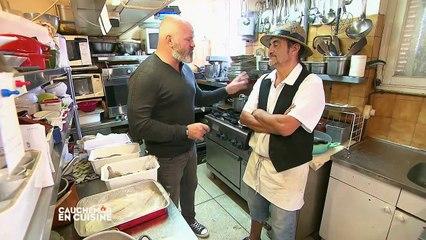Cauchemar en cuisine : Philippe Etchebest à Cavalaire face au poisson congelé de Patrick et Pascale