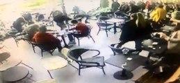 İstanbul'da Lüks Kafede Muştalı Dehşet