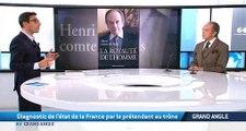 Interview d'Henri d'Orléans, le comte de Paris, sur TV5 Monde