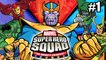 Marvel Super Hero Squad The Infinity Gauntlet #1 — Iron Man and Hulk ON Thanos Base {Xbox 360}
