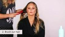 Victoria's Secret Angel Erin Heatherton Hair Tutorial