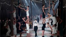 Christian Dior Haute Couture Puts On Circus-Themed Catwalk In Paris
