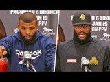 Badou Jack vs. Marcus Browne FINAL PRESS CONFERENCE | Pacquiao vs Broner Undercard
