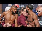 *HEATED* Badou Jack vs. Marcus Browne & FULL UNDERCARD WEIGH IN