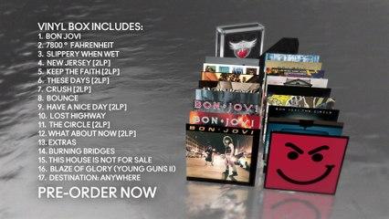 Bon Jovi - The Albums - Vinyl Box