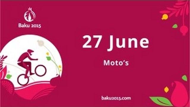 2015: Baku European Games Live - motos delayed feed