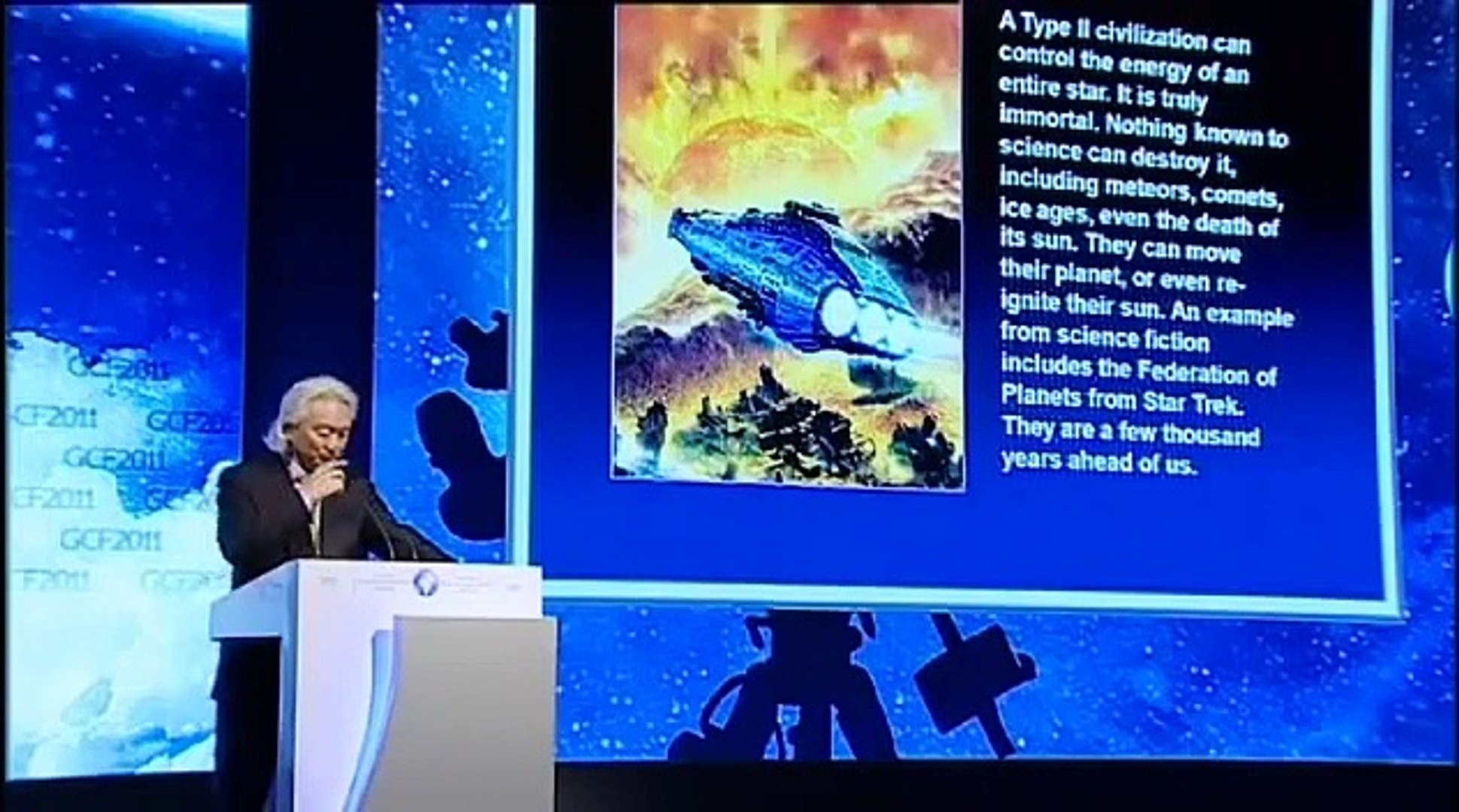 Michio Kaku - Contact Learning from Outer Space - GCF 2011 - 01-23