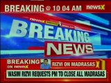 UP Shia Waqf Board chief Waseem Rizvi asks PM Narendra Modi to shut all madrasas, claims ISIS ideology being promoted