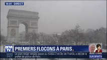 Ça y est, la neige est arrivée à Paris