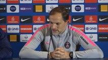 """PSG - Tuchel : """"Cavani travaille toujours pour l'équipe"""""""