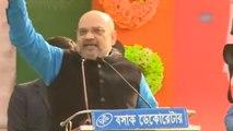 Amit Shah mocks Mamata Banerjee for blocking BJP rallies in West Bengal
