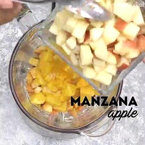 Receta de Gelatina de frutas estilo agua de La michoacana