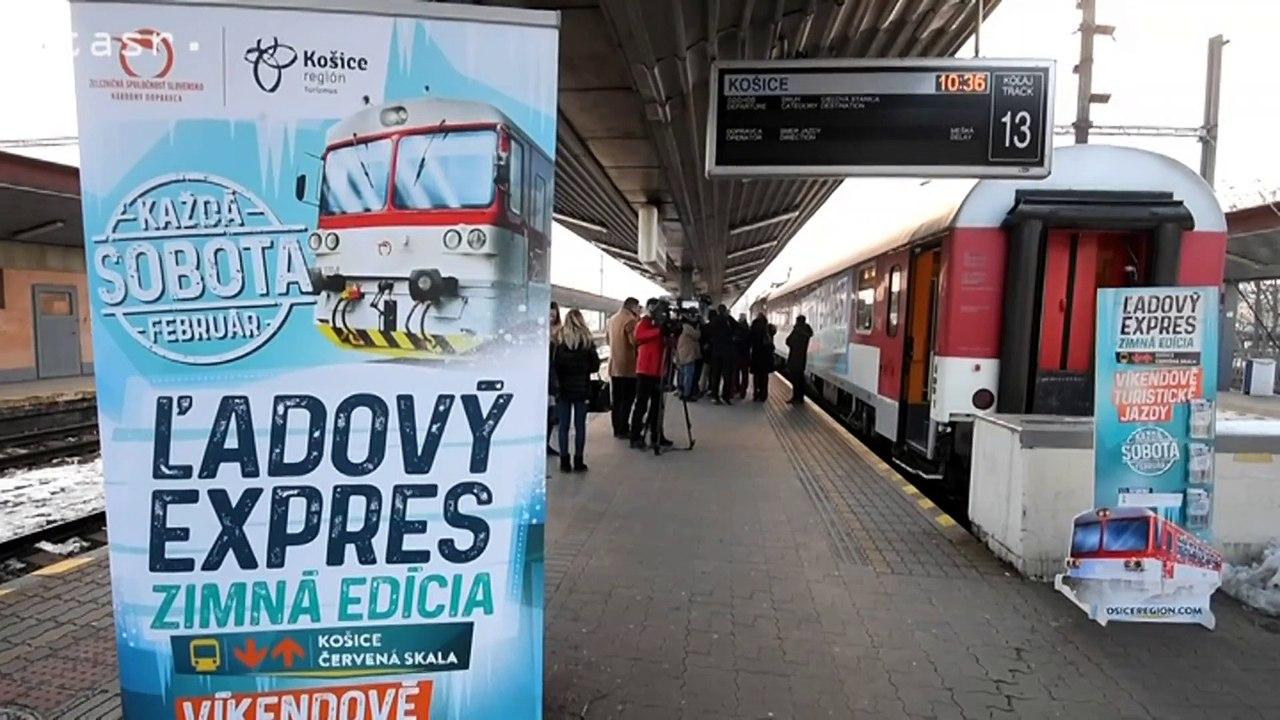 Špeciálny turistický vlak aj v zime prepojí Košice a Slovenský raj