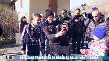 Sébastien Loeb sans transition des dunes du Dakar aux routes glacées du Monte-Carlo