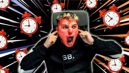 BLUETOOTH SPEAKER ALARM CLOCK BLOWS EAR DRUM
