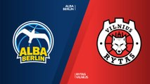 ALBA Berlin - Rytas Vilnius Highlights | 7DAYS EuroCup, T16 Round 4