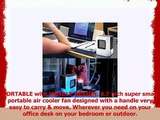 YOUDirect Personal Space Air Cooler Small Fan USB Portable Mini Air Conditioner Fan Mini