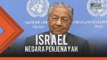 Tak habis-habis lagi nak bela Israel, ini jawapan Tun M kepada wartawan asing ini!