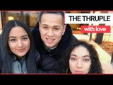 Couple who fell in love with another woman now live as a polyamorous 'thruple' | SWNS TV