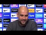 Pep Guardiola Embargoed Pre-Match Press Conference - Burton v Manchester City - Carabao Cup
