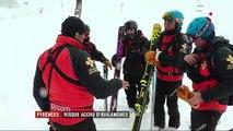 Pyrénées : le risque d'avalanche est au maximum sur les pistes