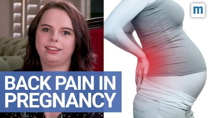 Relieving Back Pain During Pregnancy