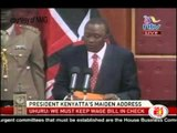 Uhuru dims MPs bawl for pay hike
