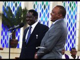Uhuru, Raila say polls should not cause bloodshed