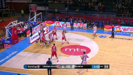 7Days EuroCup Highlights Top 16, Round 4: Zvezda 81-82 Valencia