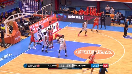 7Days EuroCup Highlights Top 16, Round 4: Cedevita 83-100 UNICS