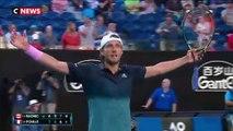 Open d'Australie : la France derrière Lucas Pouille