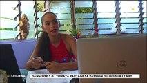 Tumata Vairaaroa prolonge l'art de la danse tahitienne sur Internet
