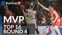 7DAYS EuroCup Top 16 Round 4 MVP: Bojan Dubljevic, Valencia Basket