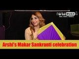 Arshi Khan celebrates Makar Sankranti