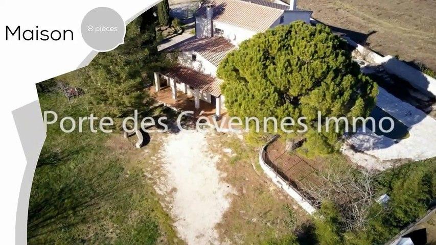 A vendre - Maison/villa - St christol les ales (30380) - 8 pièces - 176m²