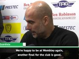 Another final is good for the club - Guardiola