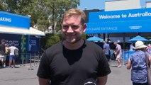 Open d'Australie - Quand les fans australiens prononcent le nom de Lucas Pouille...