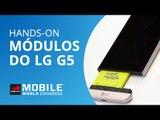 Módulos do LG G5: um olhar aprofundado do CAM Plus e do Hi-Fi Plus [Hands-on | MWC 2016]