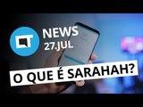 Sarahah: o app que virou febre; Fim dos iPods Nano e Shuffle e + [CT News]