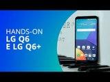 LG Q6 e LG Q6+ [Hands-on]