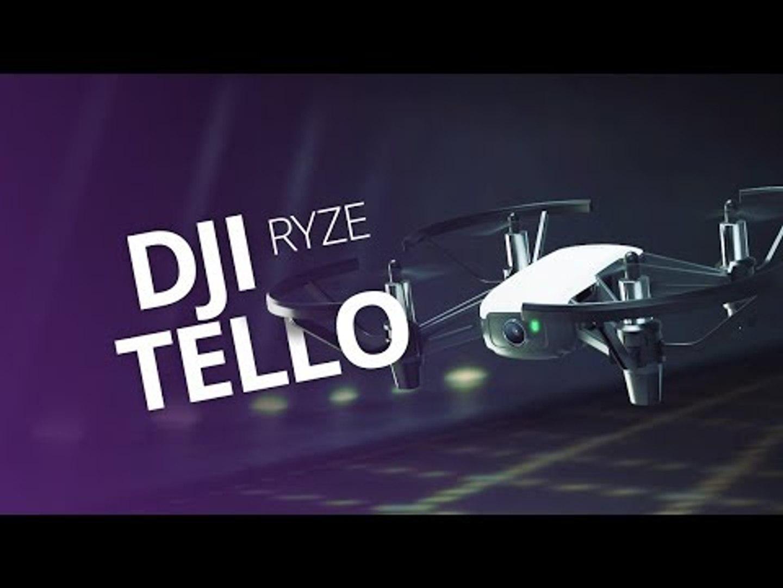 DJI Ryze Tello, o drone de  US$ 100 para brincar dentro de casa