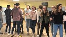 Les élèves de Saint-Michel répètent une dernière fois avant le concours de la chanson
