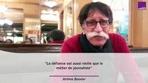 """Jérôme Bouvier : """"La défiance est aussi vieille que le métier de journaliste"""""""