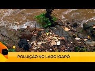 Fui!: Poluição no Lago Igapó (1 de 3)