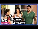 Romeo Juliet Tamil Movie   Scenes   Jayam Ravi meets Poonam Bajwa   Hansika