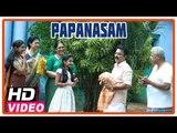 Papanasam Tamil Movie   Scenes   Kamal Haasan and family visits his in laws house   Gautami